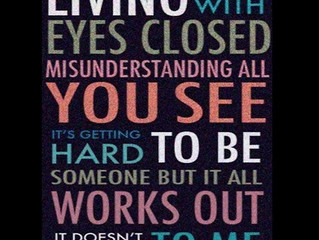 Live authentically and with awareness