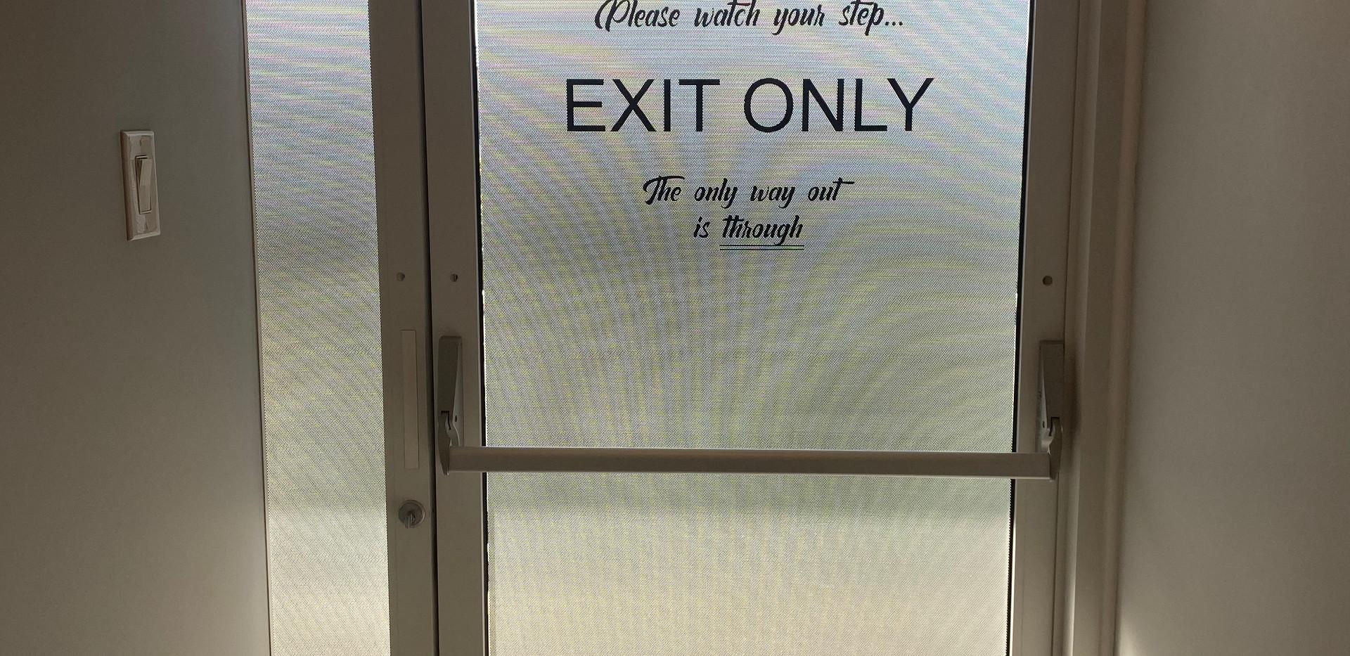 Private Exit