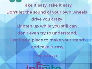 Remember, Take it easy!