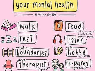 Prioritise your mental health!