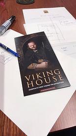 flyer fo Viking House Stavanger