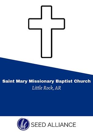 Saint Mary Missionary Baptist Church Irv
