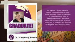 Dr. Marjorie J. Brown