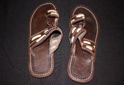 Beaded African Men Sandals