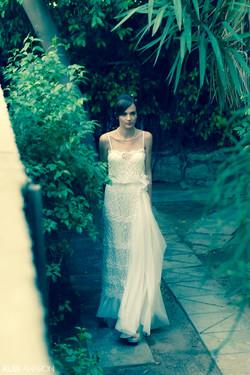 שמלות כלה - ולנטינה - תחרה עם פנינים - wedding dress - valentina - lace with pea