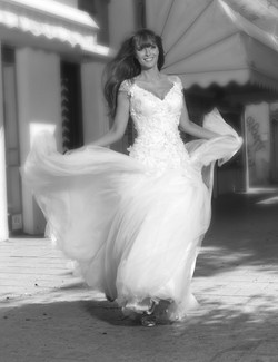 Valentina wedding dress Jasmin - Embroidered lace with ball gown Tulle 2 -ולנטינ