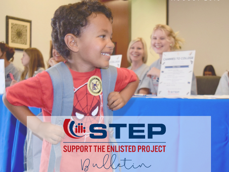 Back to School: STEP's August Bulletin