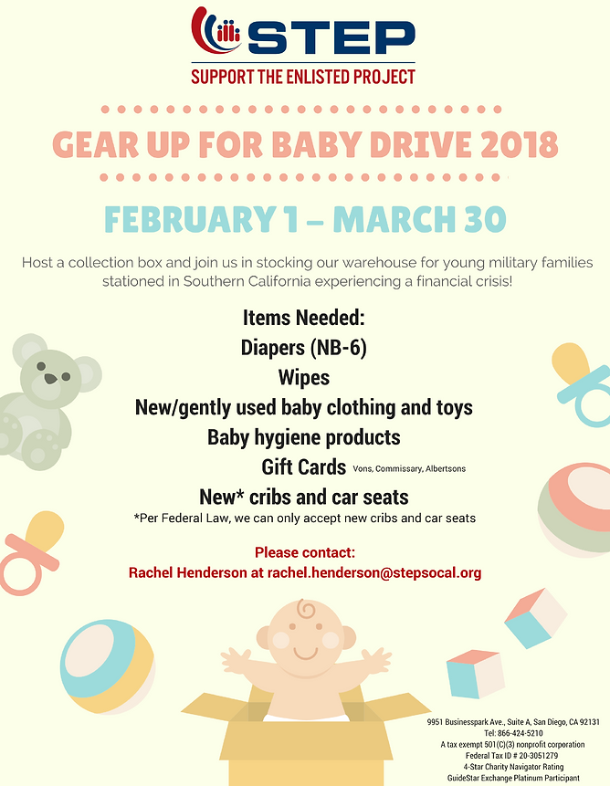 Stepsocal Baby Drive