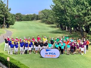 PGAジュニアリーグ神奈川ディビジョンin GDO茅ヶ崎ゴルフリンクス、開幕戦に出場いたしました。