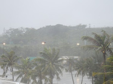 Typhoon Mangkhut has filled Northern Guam shelters
