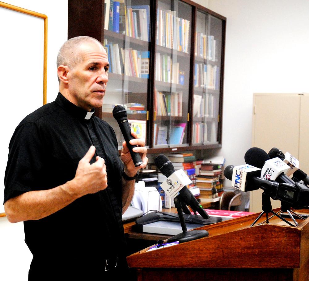 Archbishop Micheel Byrnes