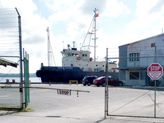 Fahrenheit rising in Yap as illegal tug is allowed to tie up