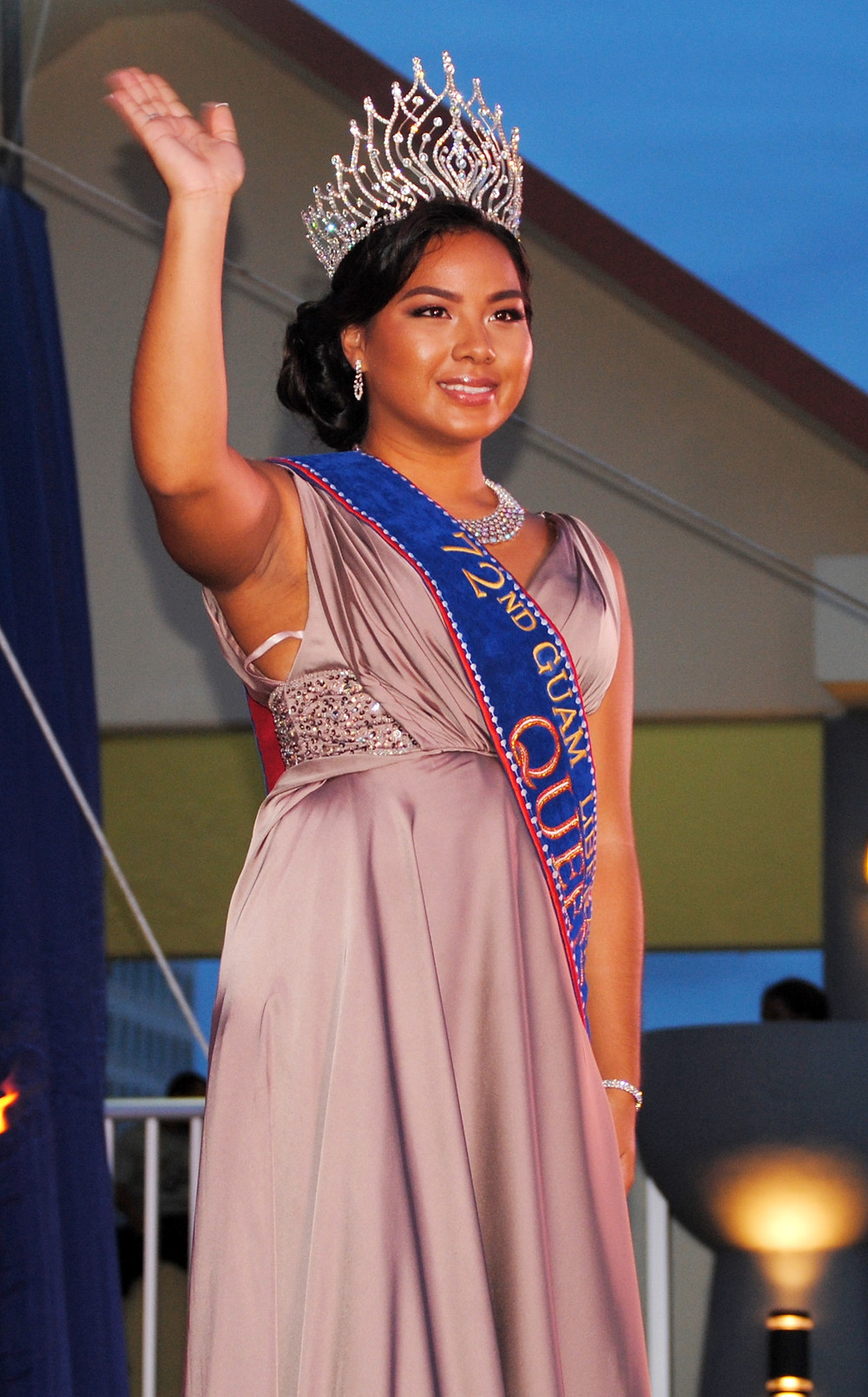 Seventy-second Liberation Day Queen Alana Chargualaf