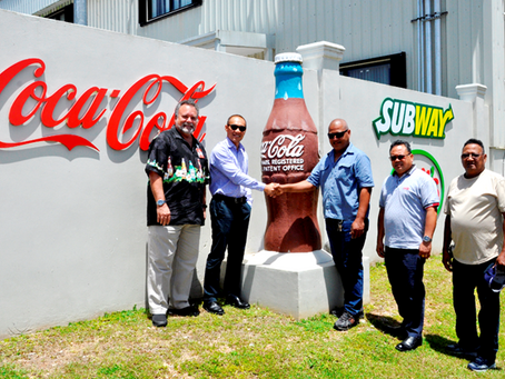 Coke and Foremost officially sponsor 2018 Yap MicroGames