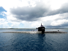 Welcome back to Guam USS Oklahoma City!
