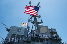 Carrier Strike Group 1 Conducts South China Patrol