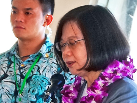 President of the Republic of China/Taiwan Tsai Ing-wen spends a day on Guam