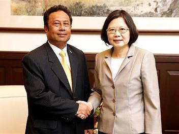 Remengesau to reaffirm Palau-Taiwan friendship