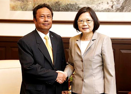 Remengesau to reaffirm Palau-Taiwan friendship