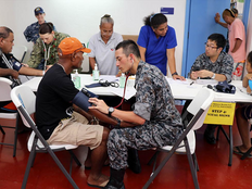 Beyond check-ups: military docs, medics help save a life at Yap hospital