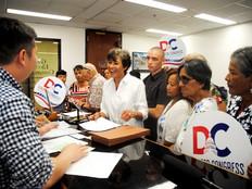 Brooks makes it official. She's seeking Guam Delegate office