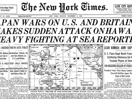 December 8, 1941: Guam invasion barely makes stateside headlines