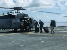 The Marines have landed on Rota and Guam