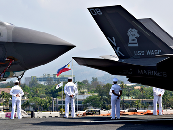 US forces at Subic Bay for Balikatan exercise