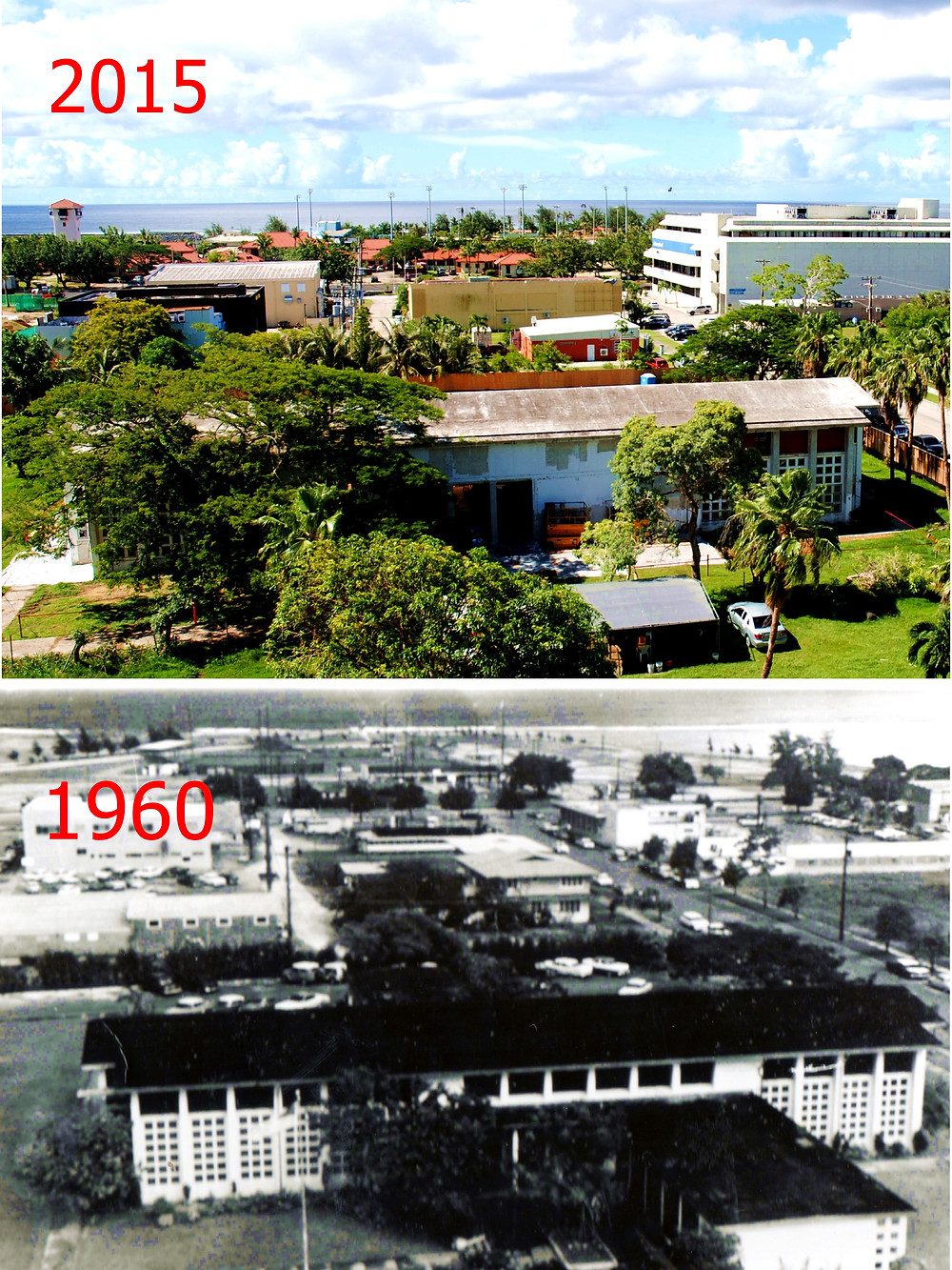 After more than 25 years, the historic Guam Congress building will reopen. Photo by Bruce Lloyd