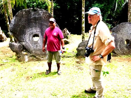 World War II's not forgotten in Yap. It's a tourist draw as well