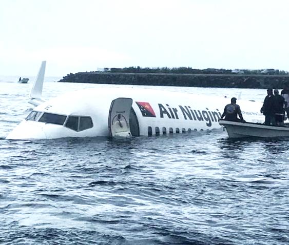 Air Nuigini crash