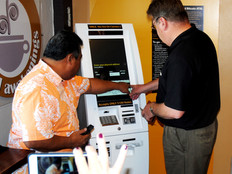 As Bitcoin crypto-currency values skyrocket, Guam coffee shop unveils the first Bitcoin ATM