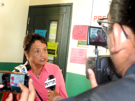 Leon Guerrero becomes Guam's first woman governor