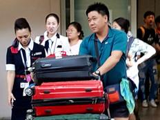 Korean tourists continue to arrive on Guam