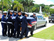 "Guam state memorial service recognizes the life and career of Senator Angel Lujan ""Sonny"""