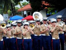 Guam's 74th Liberation parade had it all, even a pugua drop
