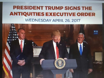 Trump orders review of national monuments under the Antiquities Act of 1906