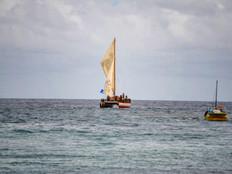 Okeanos Marianas off to Yap canoe festival