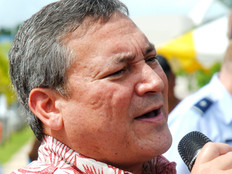 Calvo off to United Nations seeking any status for Guam except 'unincorporated territory'