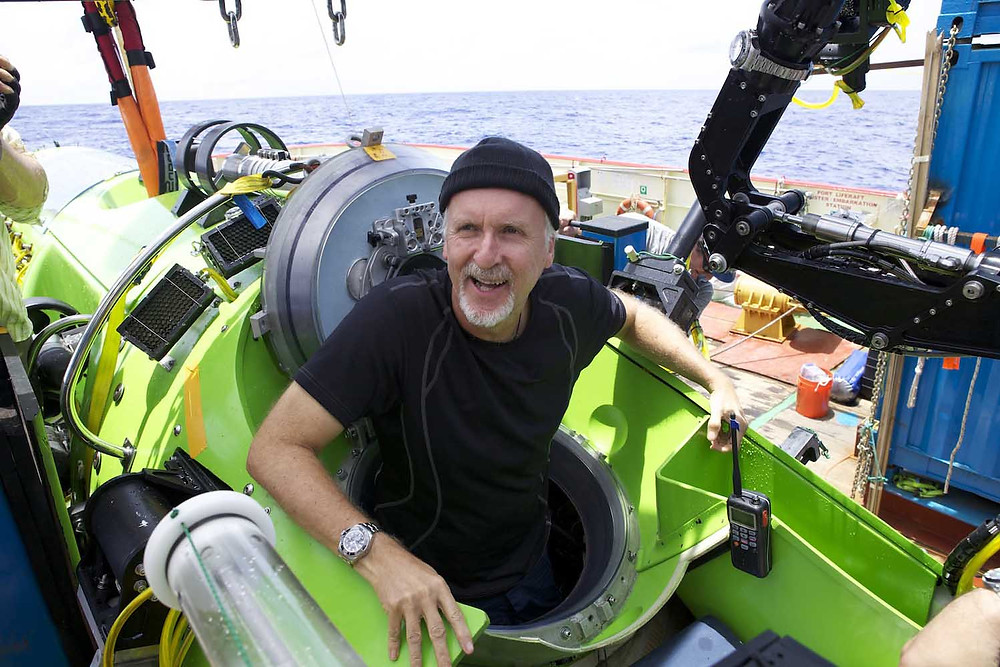 """James Cameron wrote to Obama asking him to """"finish the work of protecting the Mariana Trench Marine National Monument through a national marine sanctuary designation.""""  Photo by Mark Thiessen/ National Geographic"""