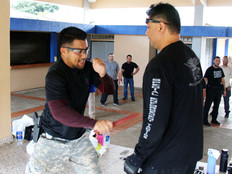 Guam court personnel learn how to fend off knife and other attacks