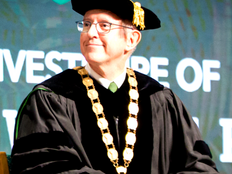 Krise officially installed as UOG's 11th president