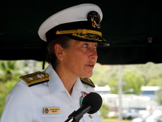 Admiral Chatfield says existing firing ranges on Guam are too small, justifying NW Field/Ritidian si