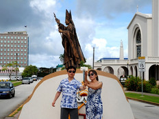 A June record for Guam tourist arrivals