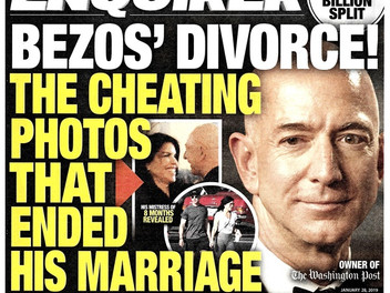 My pal Jeff Bezos outs blackmailing, creepy National Enquirer
