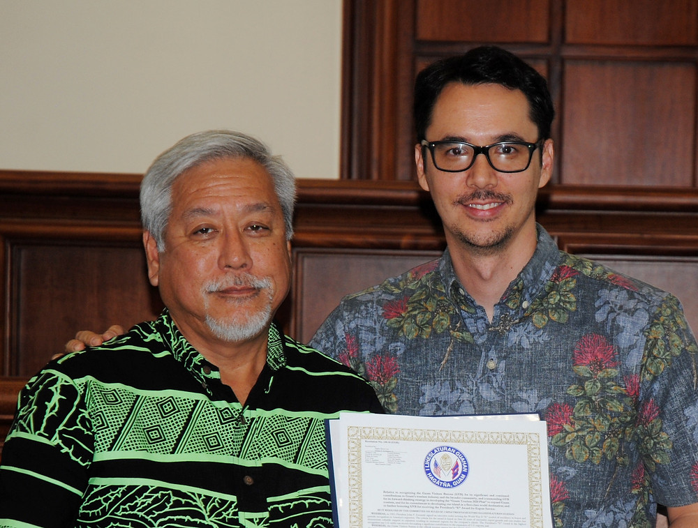 GVB Board Chair Milton Morinaga Nathan Pangilinan Denight GVB CEO President at the Legislature