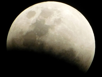 Mooning the eclipse on Guam