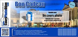 Bon Cadeau Cours Photo Dijon