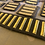 Thumbnail: WW2 Vintage Gold & Brown Overseas Service Bars