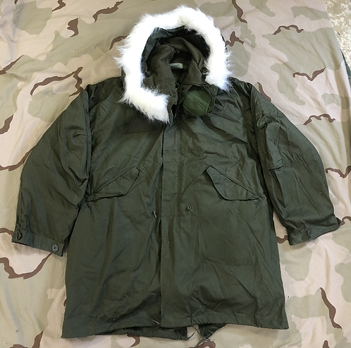 M-1965 Extreme Cold Weather Fishtail Parka w/ Hood & Liner